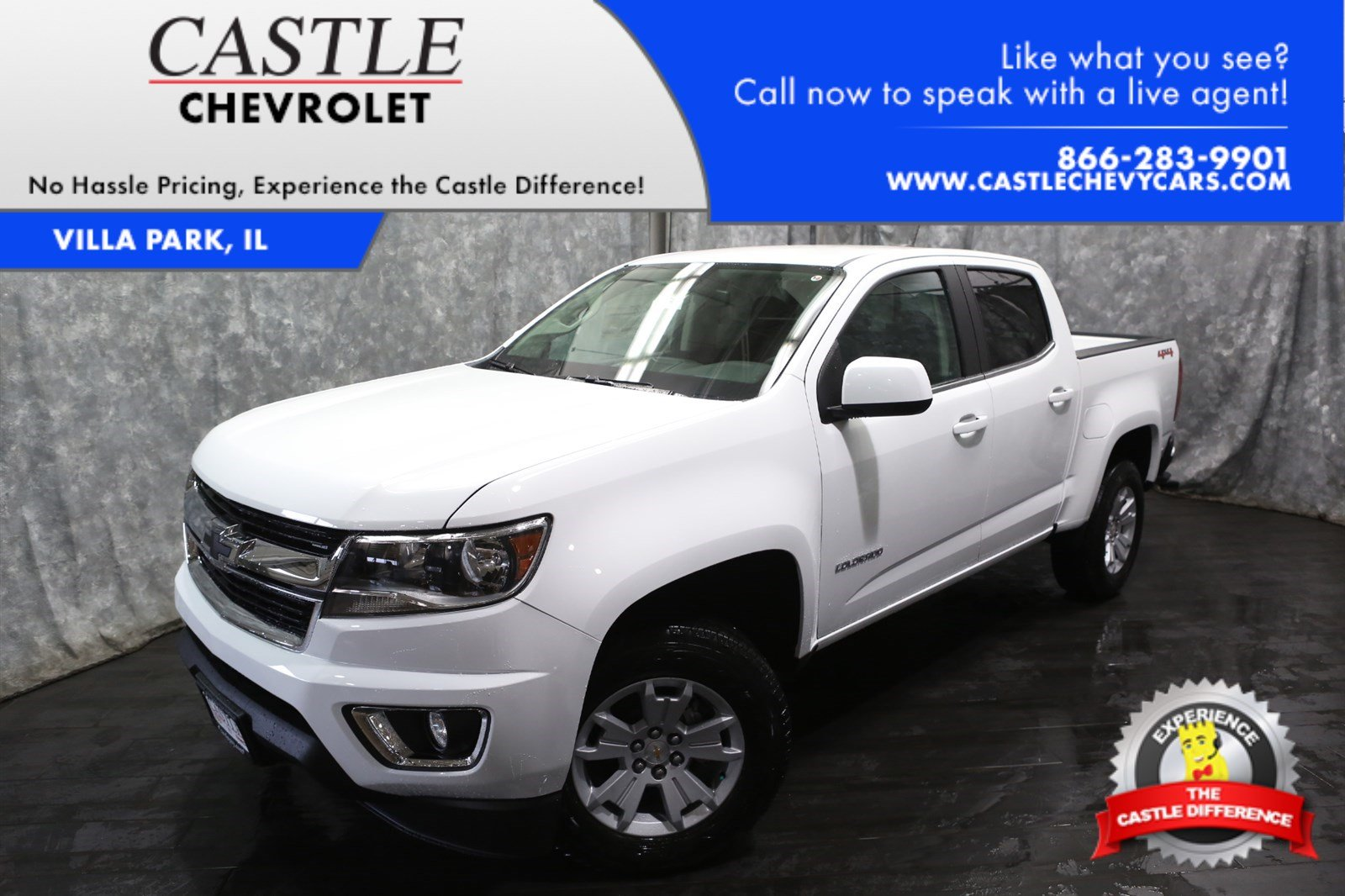 new 2017 chevrolet colorado lt crew cab pickup in villa park 37747 castle chevrolet. Black Bedroom Furniture Sets. Home Design Ideas