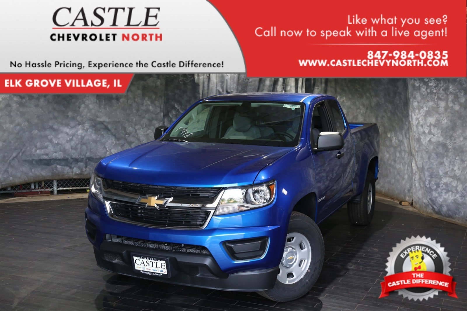 new 2018 chevrolet colorado work truck extended cab pickup in villa